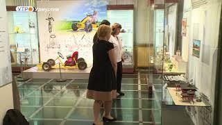 Выставка «Планета творчества – позывной «Михтим» открылась в Музее им. М. Т. Калашникова в Ижевске