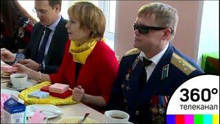 В Рузском районе после ремонта открылся центр Всероссийского общества инвалидов
