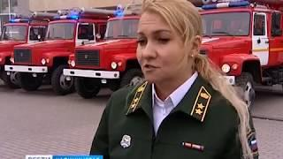 В Калининграде автопарк отряда противопожарной службы пополнился 4 новыми машинами