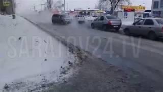 Коммунальная авария на ВСО в Саратове