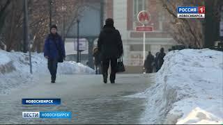 После сюжета «Вестей» коммунальщики очистили остановки от снега