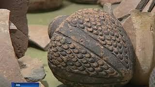 Редкую для Дона чашу со звездой Давида археологи нашли в Азове
