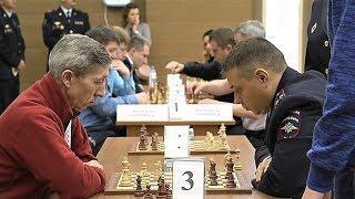 Команда УМВД заняла первое место в турнире по шахматам среди силовых структур