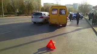 ДТП (авария г  Волжский) ул  Мира ул  Нариманова 19-11-2018 10:09