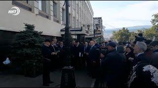 В Махачкале открыли мемориальную доску шейху Мухаммаду аль-Яраги