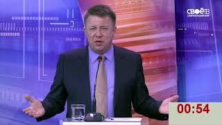 Дебаты в рамках выборах президента России. Доверенное лицо Бориса Титова