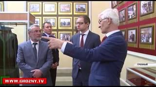 Чечню с рабочим визитом посетил заместитель руководителя налоговой службы России Дмитрий Сатин
