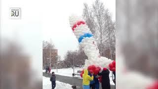 В Шумихе сегодня в небо отправилась пятиметровая ракета