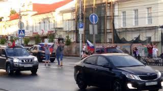 Калуга загудела после победы сборной России