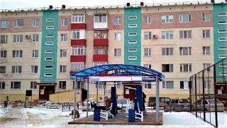 В Нефтеюганске появилась уличная площадка с тренажёрами