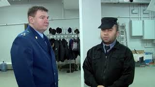 Во время проверки в ТЦ «Рубин» сработала пожарная сигнализация