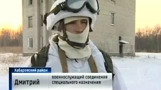 Учения военного спецназа