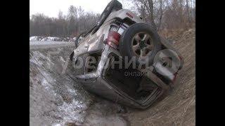 Сотрудник магистральных электросетей пострадал в сольном ДТП в Хабаровске. Mestoprotv