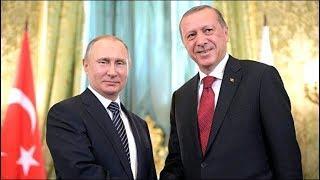"""Путин и Эрдоган открывают морской участок """"Турецкого потока"""". Полное видео"""