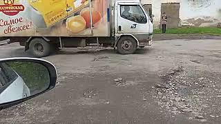 Жители Партизанска жалуются на состояние городских дорог. 2