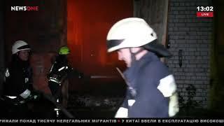 В Днепре горели склад и предприятие по производству мебели 23.09.18