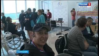 В Элисте стартовал Национальный челимпикс»мпионат среди инвалидов «Абилимпикс»