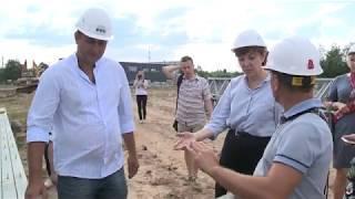 В Череповце появились первые очертания нового овощного комбината