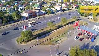 ДТП (авария г. Волжский) ул. Карбышева ул. Пионерская 18-10-2018 08-44