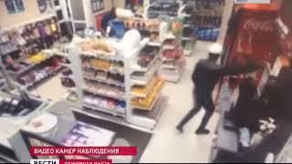 Подозреваемых в разбойном нападении на заправку в Оёке задержали