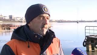 12 11 2018 Спасатели Удмуртии предупреждают об опасности первого тонкого льда в Удмуртии