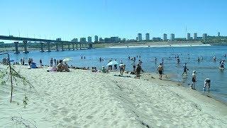 Волгоградские пляжи готовы к наплыву отдыхающих