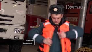 В МЧС по Мордовии экстренно собрали аэромобильную группировку