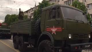 Парад Победы прошел по улицам столицы