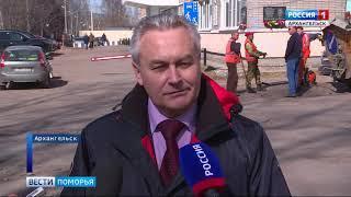 В Архангельске ямочный ремонт идёт с опережением графика