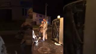 В ДТП на улице Физкультурной в Южно-Сахалинске пострадали два человека