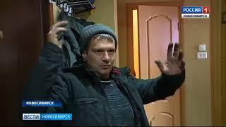 Крупный пожар произошел в одной из многоэтажек Калининского района Новосибирска