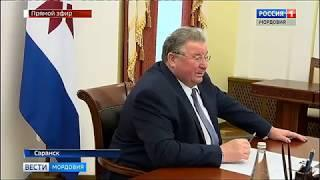 Владимир Волков обсудил с вице президентом «ПАО Ростелеком» развитие в РМ отрасли связи