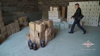 В Алтайском крае изъята крупная партия фальсифицированного алкоголя