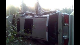 Подробности ДТП с микроавтобусом в Рязани