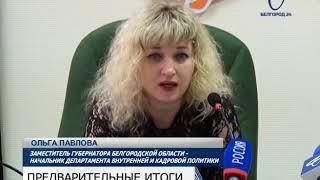 В Облизбиркоме подвели предварительные итоги выборов Президента России