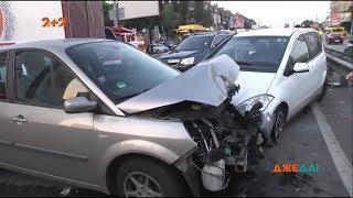 В нічній ДТП в столиці постраждали шість авто