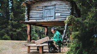 Народные мастера показывают югорчанам, как построить мансийский дом и нарты