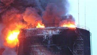 Пожар на месторождении в Нижневартовском районе тушат больше 120 человек