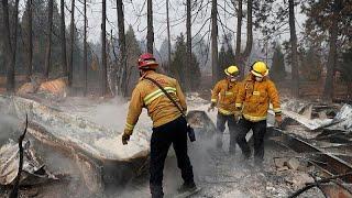 В Калифорнии локализован природный пожар