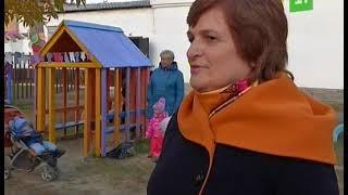 Еманжелинские дошколята самостоятельно перерезали красную ленту и открыли новый детский сад