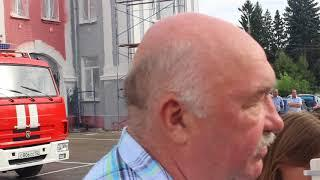 Главный инженер завода им. Свердлова рассказывает об обстоятельствах взрыва