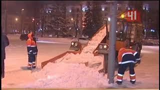 Борьба со снегом в Екатеринбурге