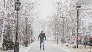 Жители Ханты-Мансийска выкладывают в соцсети незадавшуюся весну