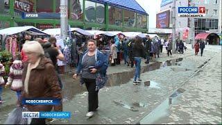 Стихийная уличная торговля заполонила Новосибирск: есть ли способы борьбы?