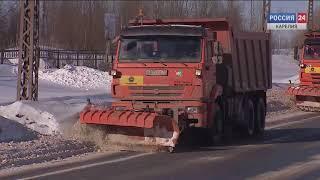 Новую технику планируется приобрести для уборки от снега дорог Карелии