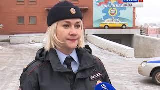 В Кирове установился снежный покров(ГТРК Вятка)