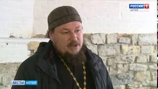 В столетней Знаменской церкви в Алтайском крае строители нашли тайное помещение
