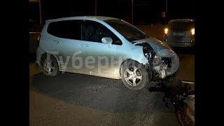 Приезжий устроил гонки на дороге в Хабаровске и попал в ДТП. Mestoprotv