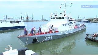 Иностранный корабль прибыл в Махачкалинский порт