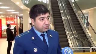 Сотрудники прокуратуры и МЧС проверили пожарную безопасность торгового центра «Победа плаза»